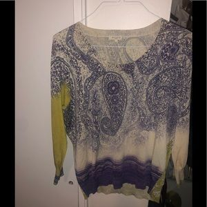 ETRO Milano pattered top